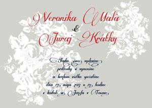 Svadobné Oznámenie KSO11