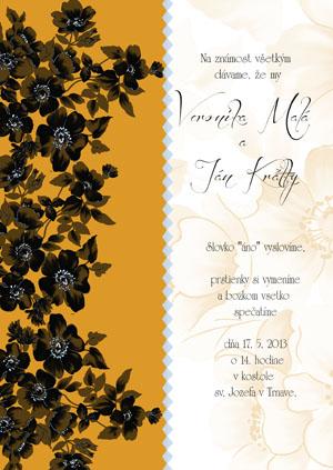 Svadobné Oznámenie KSO12