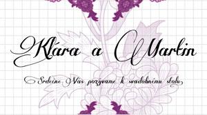 Svadobné Oznámenie KSO13