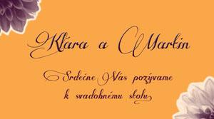 Svadobné Oznámenie KSO14