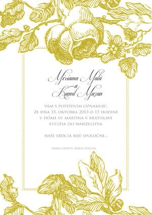 Svadobné Oznámenie KSO31