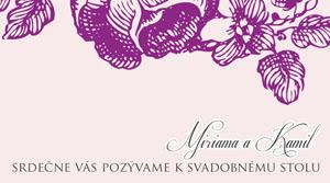 Svadobné Oznámenie KSO32