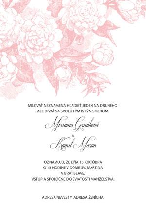 Svadobné Oznámenie KSO35