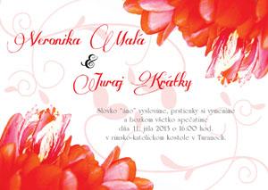 Svadobné Oznámenie KSO4