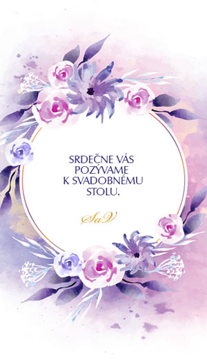 Svadobné Oznámenie KSO44