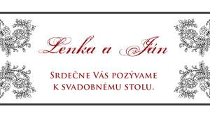 Svadobné Oznámenie LSO10