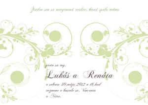 Svadobné Oznámenie LSO23