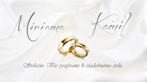 Svadobné Oznámenie LSO26