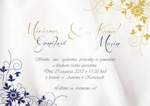 Svadobné Oznámenie LSO34