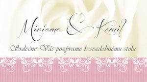 Svadobné Oznámenie LSO38
