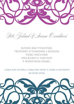 Svadobné Oznámenie LSO55
