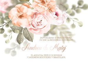 Svadobné Oznámenie NO10
