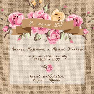 Svadobné Oznámenie NO22