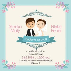 Svadobné Oznámenie NO41