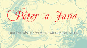 Svadobné Oznámenie SFOT12