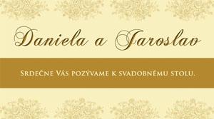 Svadobné Oznámenie SFOT14