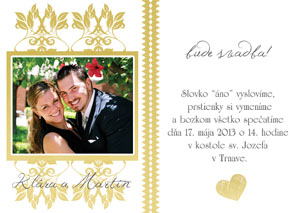 Svadobné Oznámenie SFOT3