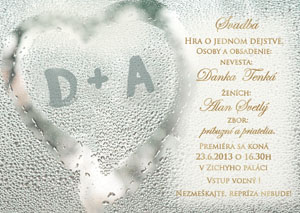 Svadobné Oznámenie SNAP16