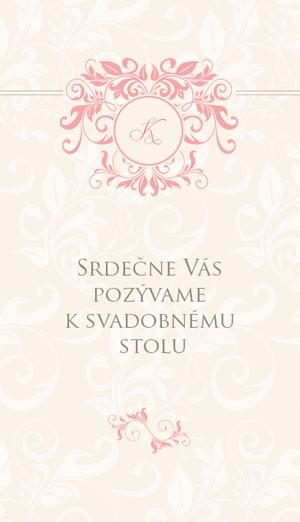 Svadobné Oznámenie SSO16