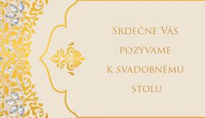 Svadobné Oznámenie SSO18