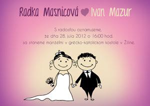 Svadobné Oznámenie SSO24