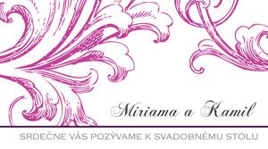 Svadobné Oznámenie SSO30