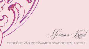 Svadobné Oznámenie SSO31