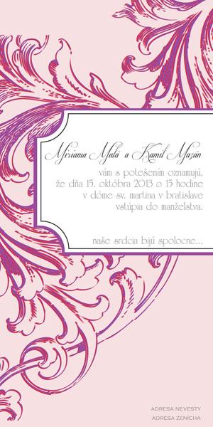Svadobné Oznámenie SSO32